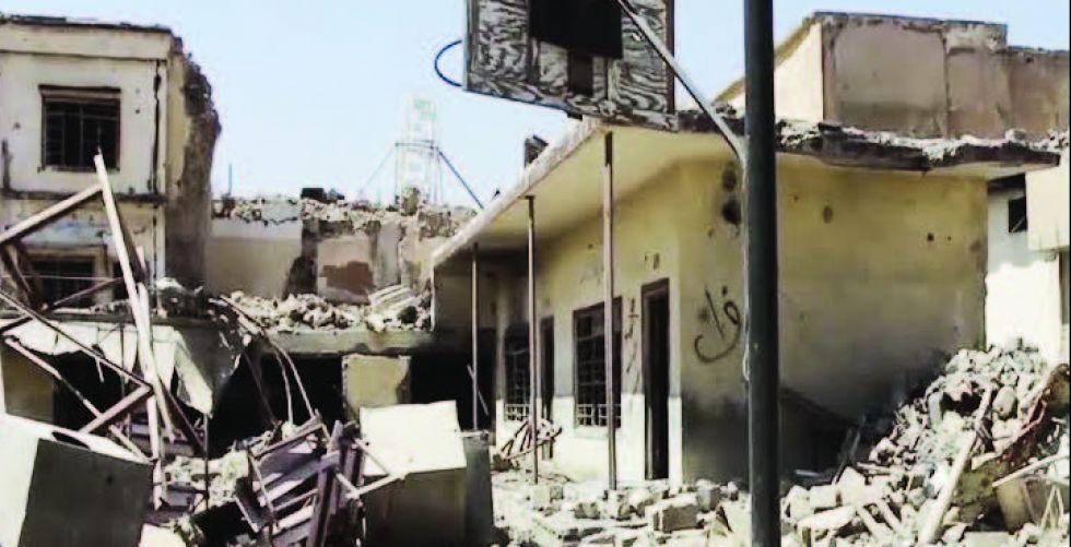 أطفال الموصل .. مدارسهم خرائب ولكن الأمل موجود
