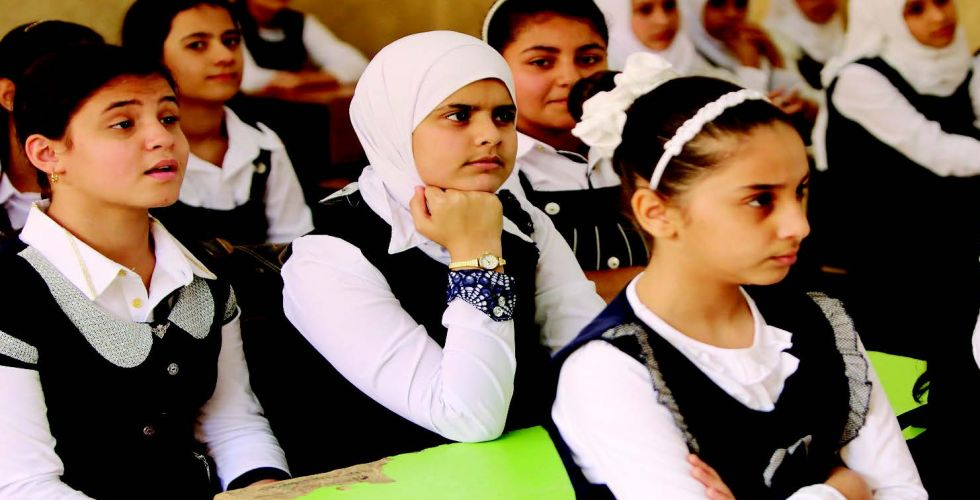عودة انتظام دوام الطلبة في أغلب مدارس بغداد