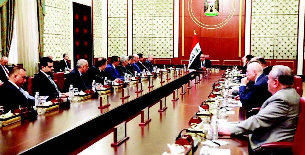 مجلس الوزراء يناقش مهام الحكومة بتسيير الأمور