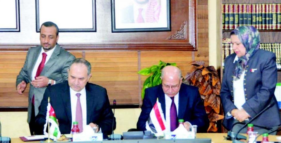 العراق يوقع مذكرة تفاهم مع الأردن