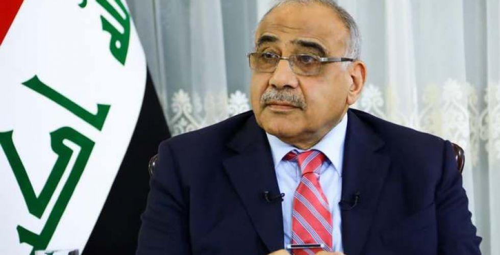 عبد المهدي يعلن تحول حكومته إلى تصريف أعمال