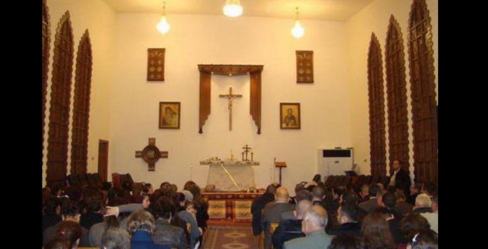 افتتاح كنيسة {البشارة} في الجانب الأيسر من الموصل