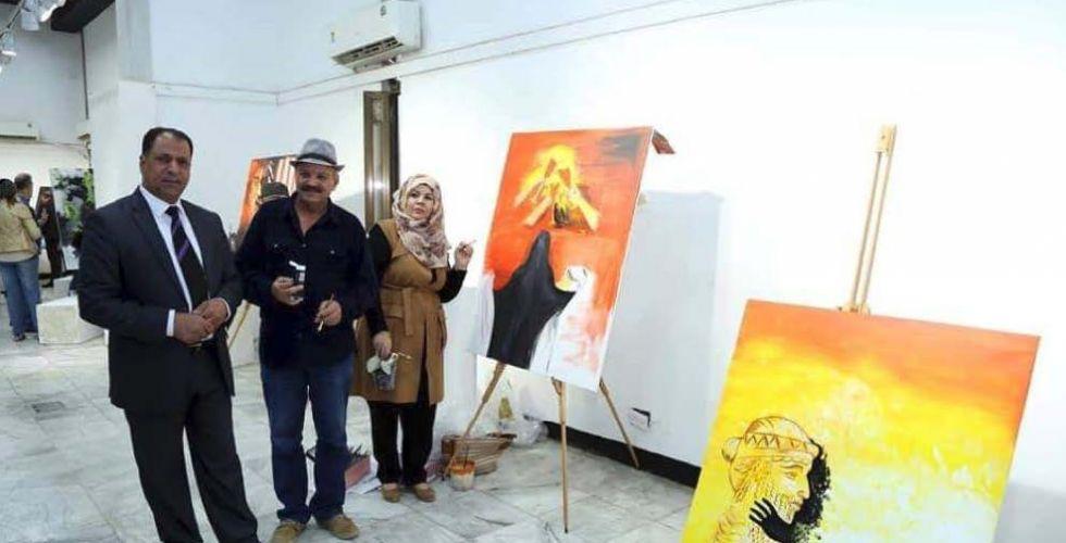 «كلنا العراق».. تظاهرة فنيَّة على قاعة عشتار