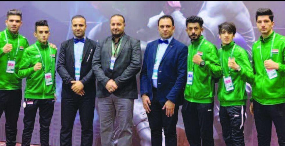 8 أوسمة للعراق في منافسات العرب بالتجذيف