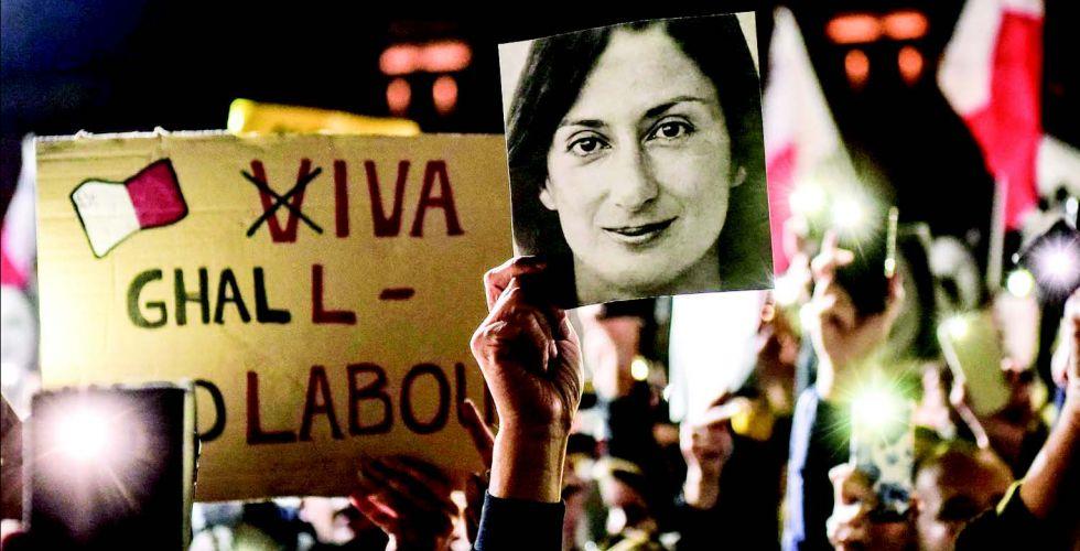 عندما تصبح الصحافة سبباً لسقوط حكومة مالطا