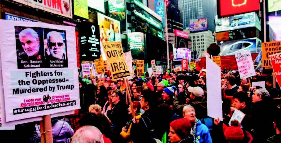 نصف الأميركيين يعارضون سياسات ترامب تجاه إيران