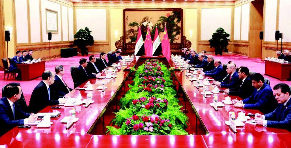 ترقب عراقي لتنفيذ خطوات الاتفاقية مع الصين