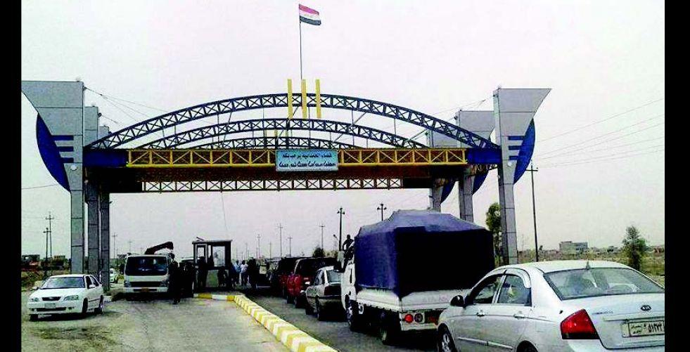سبعة مليارات دينار لتأهيل مداخل الموصل