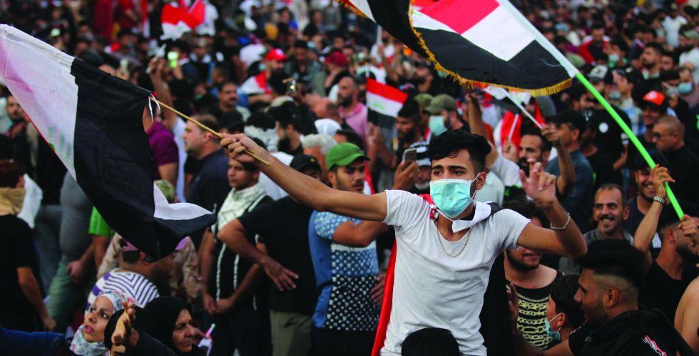 حقوق الإنسان تجدد الدعوة للسلمية.. وتسجل استشهاد 12 متظاهرا