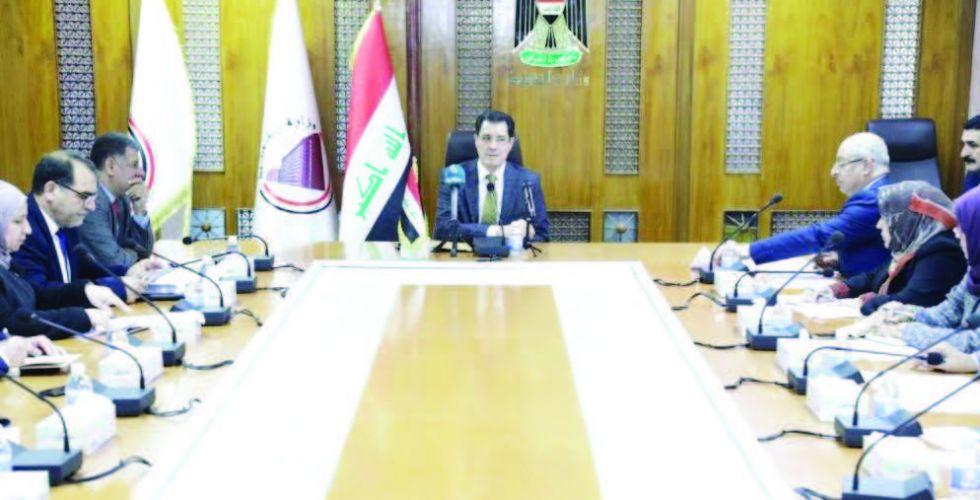 وزير التخطيط يناقش إجراءات  «تشغيل الشباب»