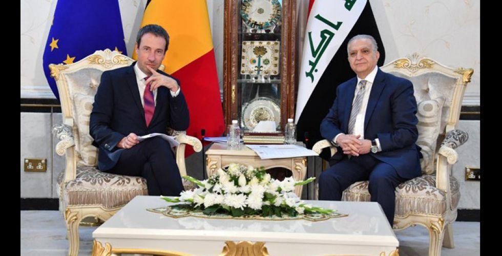العراق وبلجيكا يتفقان على تعزيز التعاون الثنائي