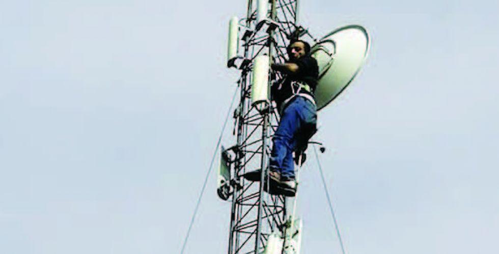 ضبط برج لتهريب سعات الانترنت في محافظة نينوى
