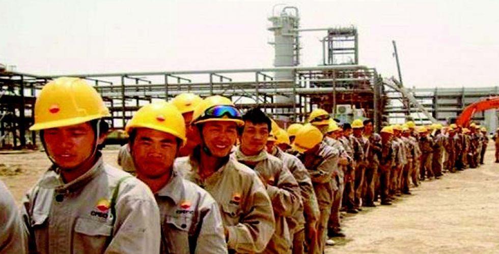 لا إصابات بـ {كورونا} بين العاملين الصينيين  في العراق