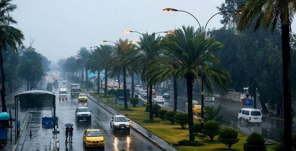 طقس غائم وممطر خلال الأيام المقبلة