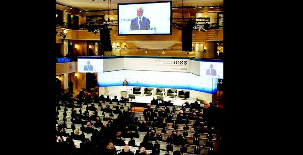 انقسام أطلسي في قمة ميونيخ للأمن