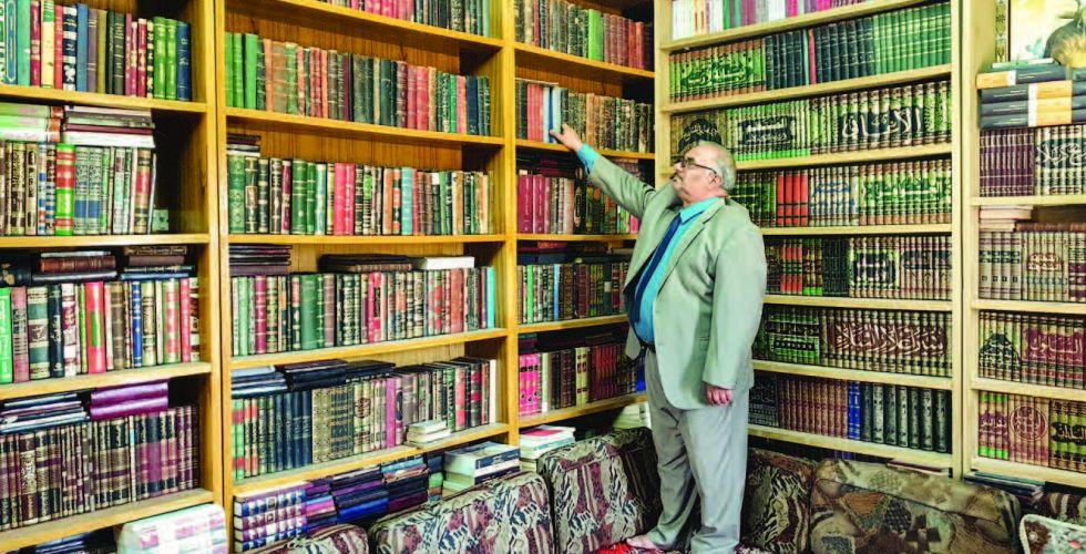 ابراهيم الشيباني : أشم الورق فاكتشف قيمة الكتاب