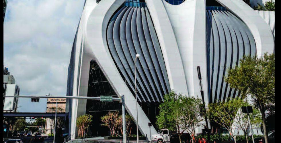 برج سكني من تصميم زها حديد