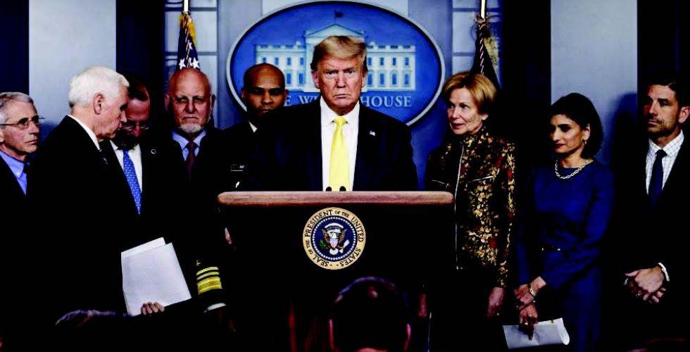 رئيس موظفي البيت الأبيض وخمسة مشرعين  في الحجر الصحي بسبب (كورونا)