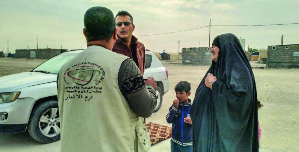 الهجرة: 327 ألف أسرة ما زالت نازحة