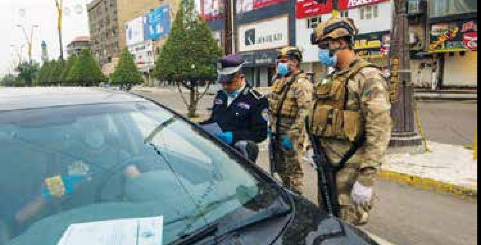 المرور العامة: عقوبات بحق منتهكي حظر التجوال