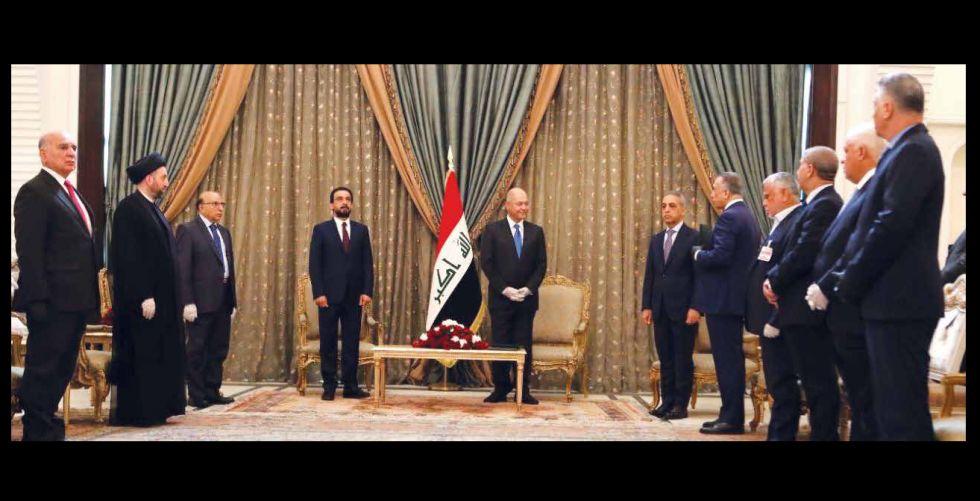 رئيس الجمهورية يكلف الكاظمي بتشكيل الحكومة الجديدة