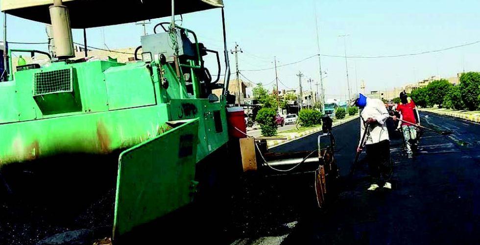 إنجاز 290 مشروعا خدميا في نينوى
