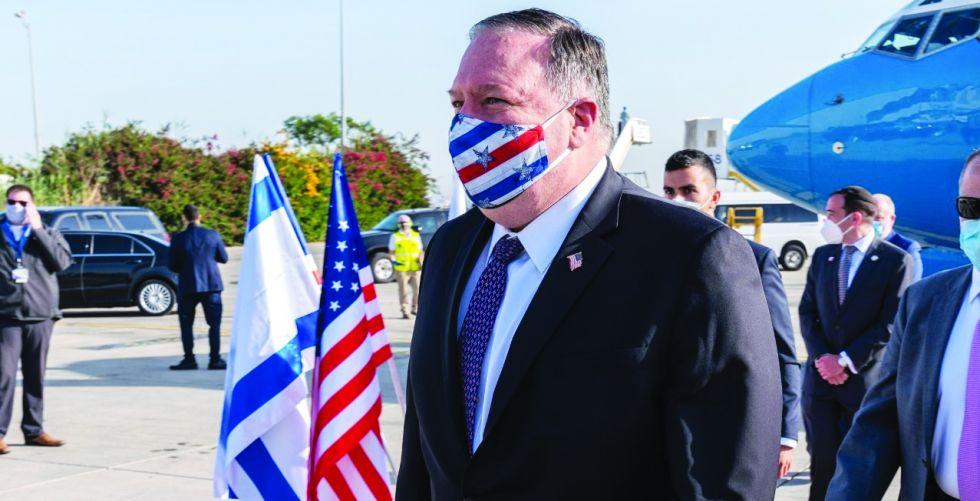بومبيو ونتنياهو يناقشان خطط  ضم أراض فلسطينية