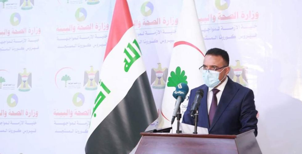 وزير الصحة لـ {   الصباح     }: اليوم افتتاح 30 مركزاً للفحص في الرصافة