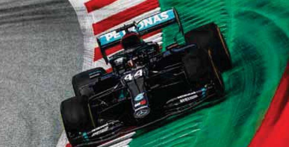 هاميلتون يتصدر تجارب  سباق النمسا للفورمولا 1