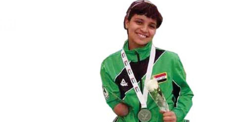 تأهل نجلة عماد كأصغر لاعبة الى الدورة البارالمبية