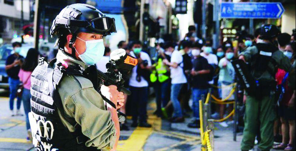 الأمم المتحدة قلقة إزاء اعتقالات هونغ كونغ