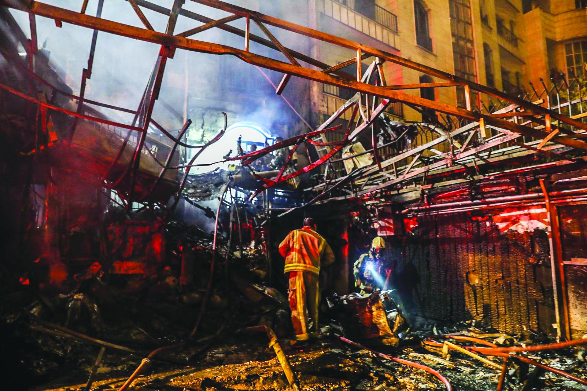 القضاء الإيراني يحقق في انفجار {نطنز»