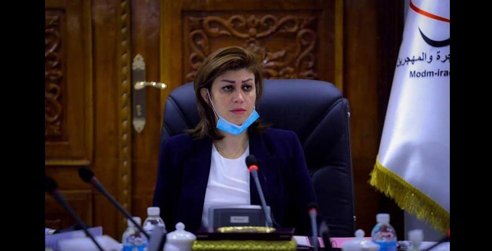 وزيرة الهجرة لـ {   الصباح    }: دعم مناطق النازحين الأصلية يعجل بعودتهم طوعياً