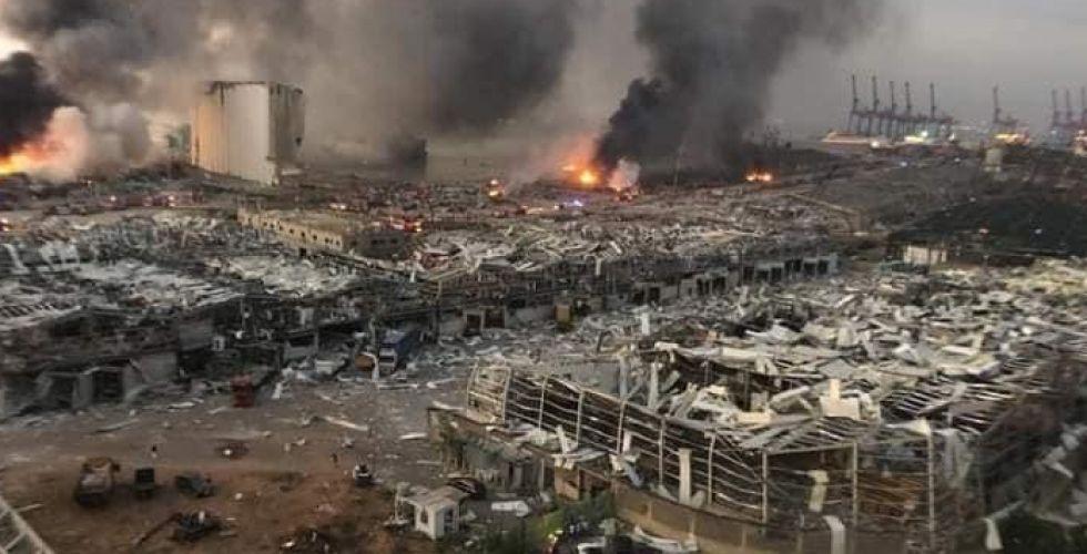 إعلان حالة الطوارئ في بيروت لمدة أسبوعين