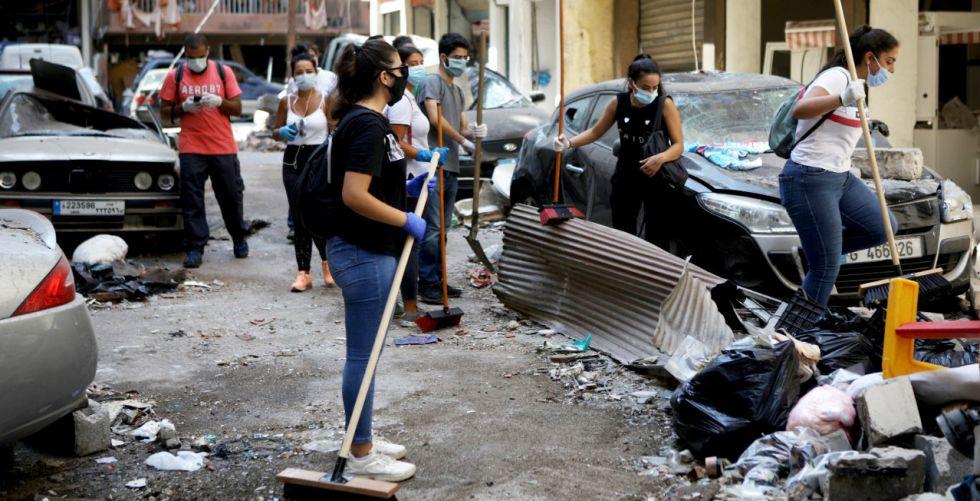 حي مار مخايل التراثي في بيروت: من ملتقى للأصدقاء إلى ركام