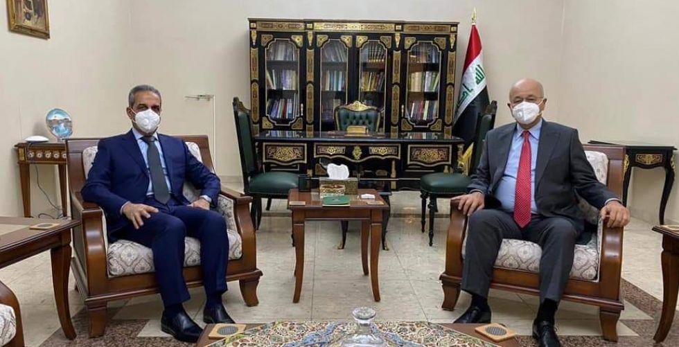 صالح يبحث مع رئيسي الوزراء والقضاء الأعلى الانتخابات المبكرة