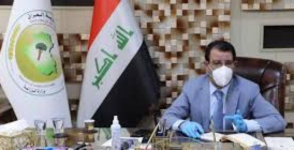 وزير الزراعة يطلع على أسباب نفوق أسماك هور الدلمج