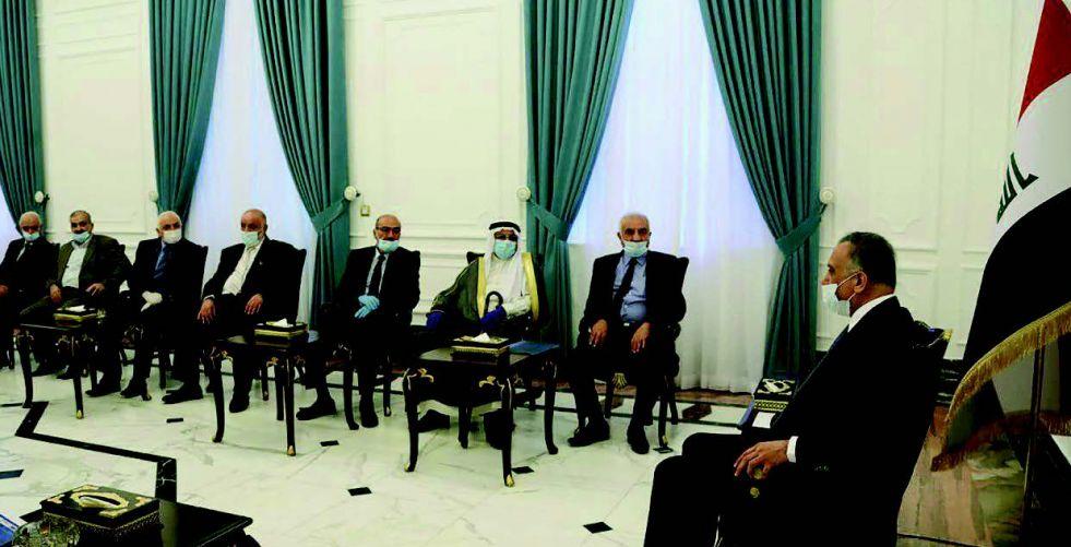 الكاظمي: أنا غير راضٍ عن واقع بغداد