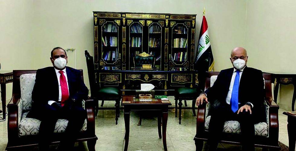رئيس الجمهوريَّة يشدِّد على ضرورة تعزيز مكانة العراق الدوليَّة