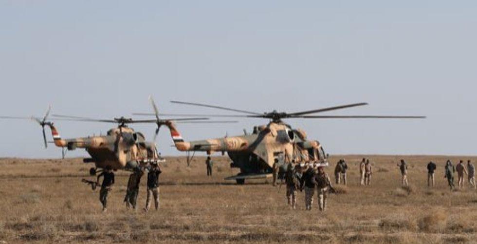 قواتنا تدمّر أنفاقاً لعصابات داعش الإرهابية في وادي الثرثار
