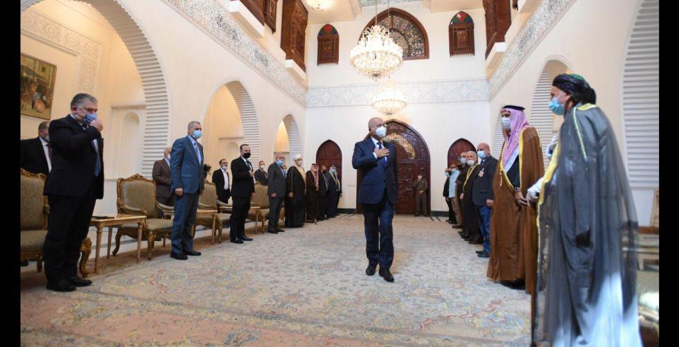 رئيس الجمهورية يؤكد ضرورة معالجة الوضع في كركوك بما يضمن التعايش