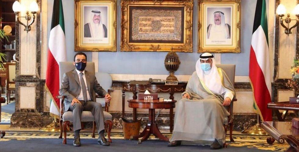الحلبوسي يبحث مع الصباح تأجيل سداد الدفعات المتبقية من الديون المترتبة بذمة العراق للكويت