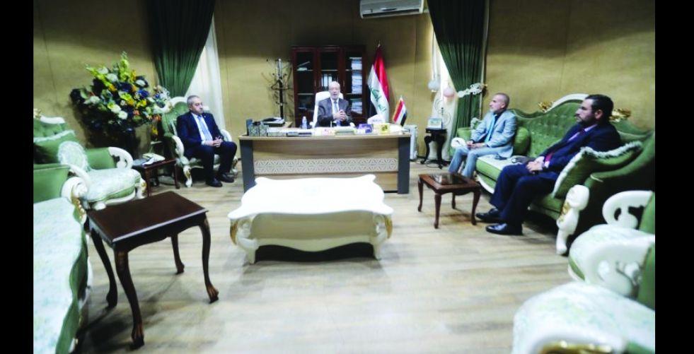 الحداد يؤكد أهمية عقد اللقاءات  بين المركز والاقليم