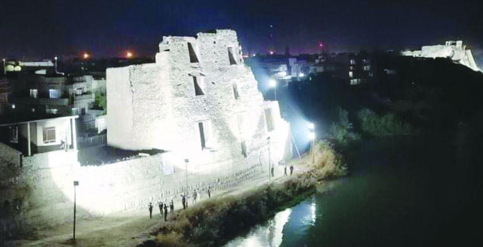 اضاءة معالم الموصل القديمة