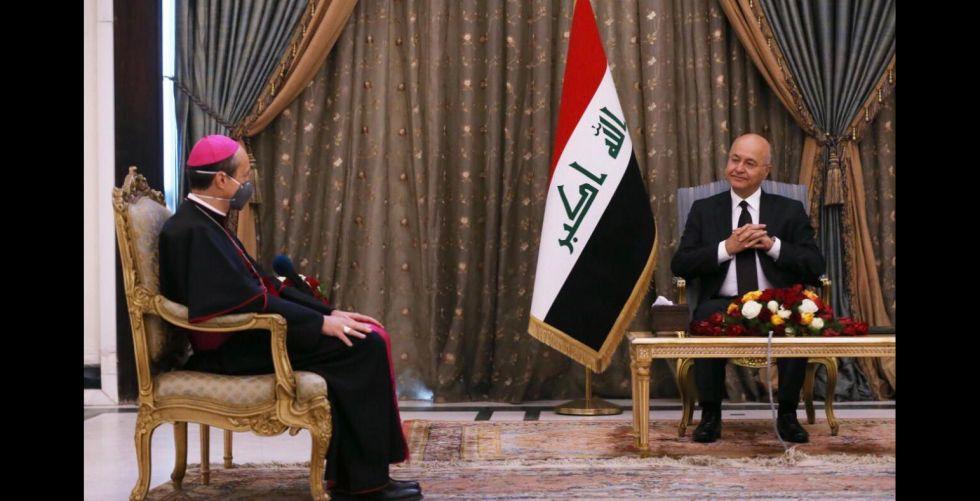 برهم صالح: التعاون الدولي يقطع الطريق أمام الجماعات الإرهابية