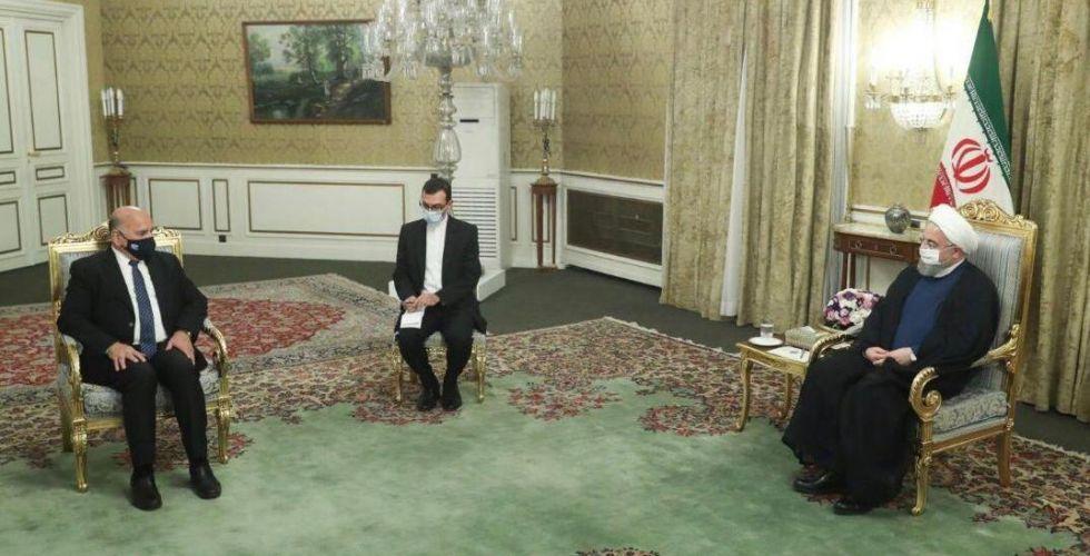 وزير الخارجية والرئيس الإيراني يبحثان العلاقات المشتركة