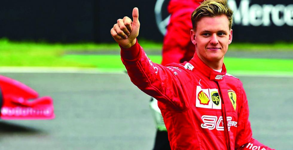 ميك شوماخر يقترب  من تحقيق  لقب «فورمولا 2»