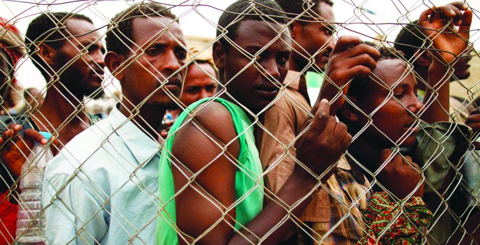 مراكز الحجر تضيق بالمهاجرين الأفارقة