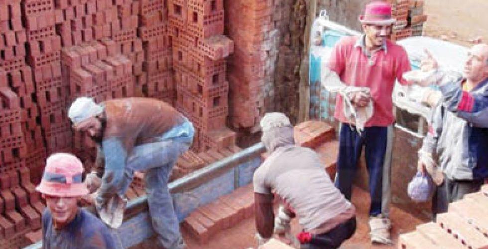 تراجع كبير في مبيعات مواد البناء المصرية