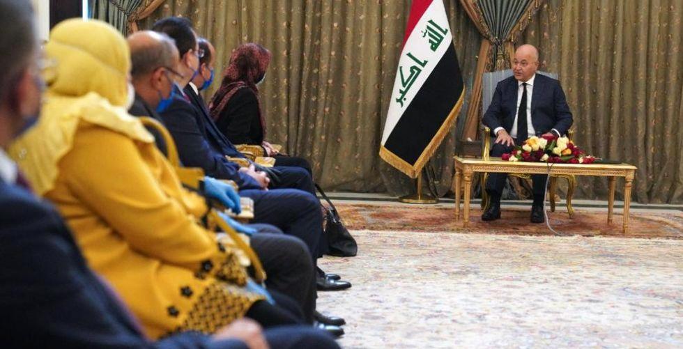 رئيس الجمهورية يؤكد ضرورة استقلالية مجلس الدولة لتطوير عمل مؤسسات الدولة